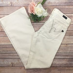 Citizens of Humanity Ingrid Flare Jeans Ivory 28